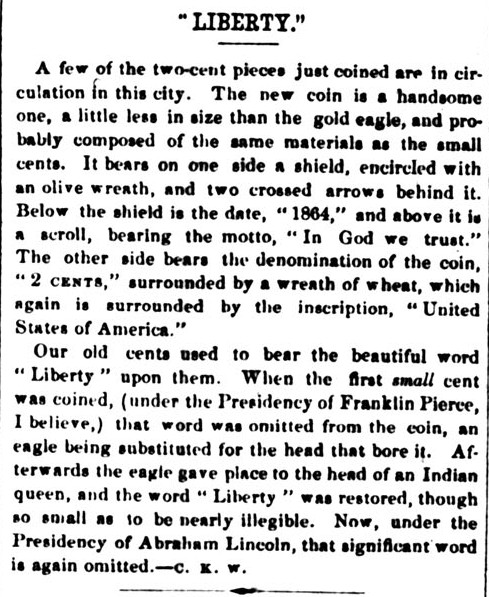 Liberty - The Liberator, June 24, 1864