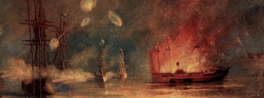 Bombardment at Port Hudson
