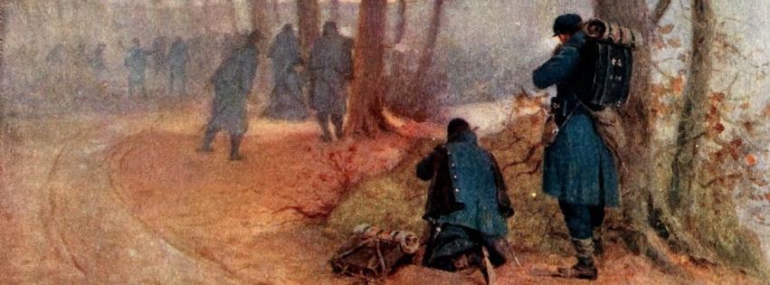 Shirmishers at Chancellorsville