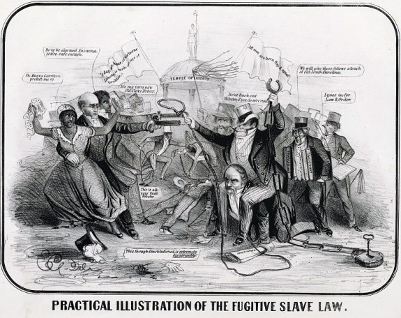 Practical illustration of the Fugitive Slave Law