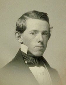 Horatio Alger, Jr. in 1852
