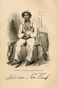 Solomon Northup in his Plantation Suit