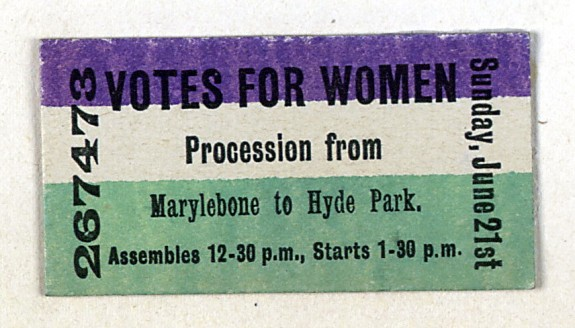 Votes for Women - Hyde Park