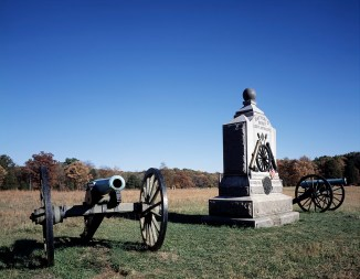 Wheatfield Monument, Gettysburg, Pennsylvania