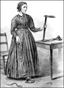 Laura Smith Haviland, a Quaker and noted abolitionist