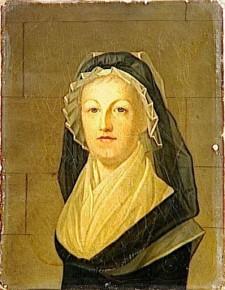 Marie Antoinette in the prison Conciergerie