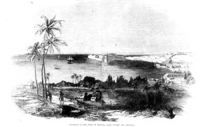 Entrance to the Port of Havana, from Fuerte Del Principe