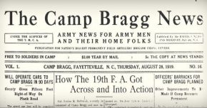 Camp Bragg News