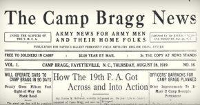 Camp Bragg News