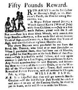 The South-Carolina Gazette, April 3, 1775