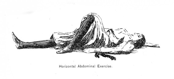 Horizontal Abdominal Exercise