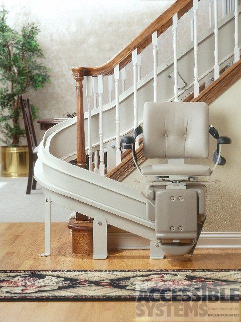 Bruno Custom Curved Stairlift Accessible Systems