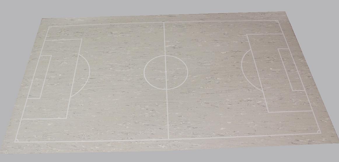 tapis gerflex avec tracage foot