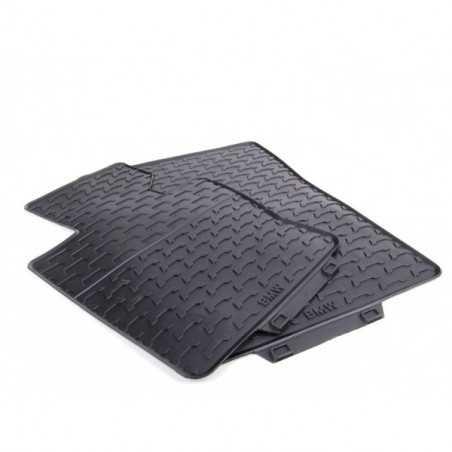 jeu de tapis de sol tous temps en caoutchouc bmw x3 e83
