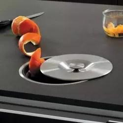 Vide Dechets 10l En Inox Accessoires Cuisines