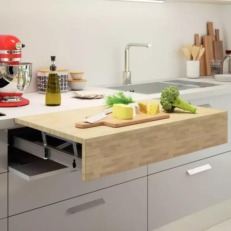 ferrure pour plan de travail escamotable accessoires de cuisines