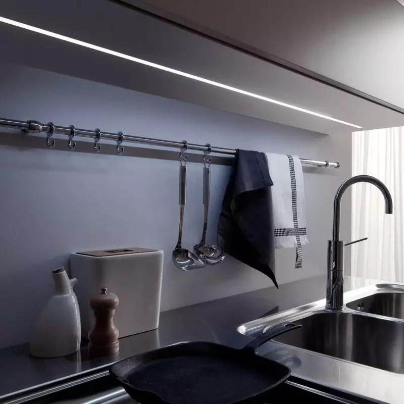 reglette led a encastrer interrupteur variateur accessoires de cuisine