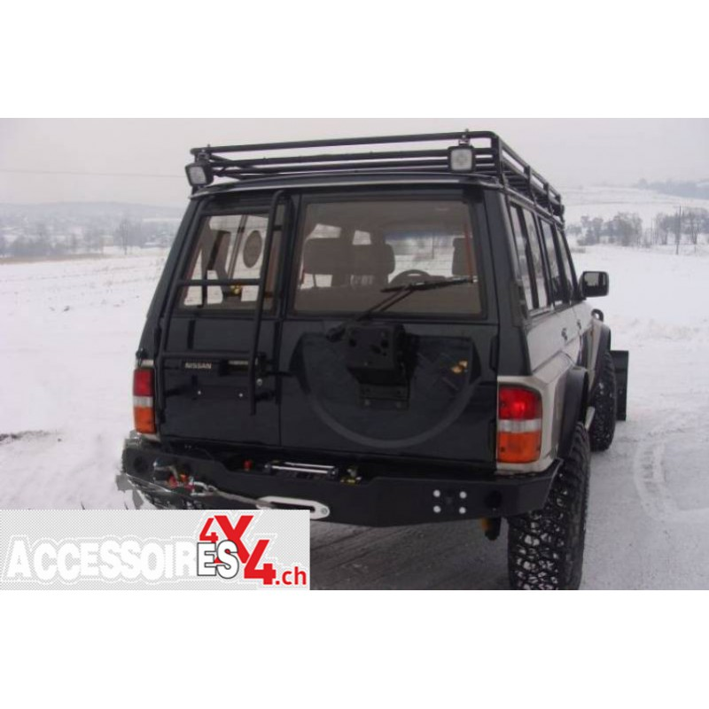 roof rack without mesh nissan patrol y60 long version
