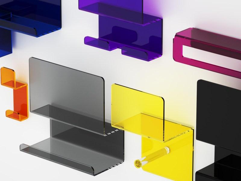 Serie completa Folio in plexiglass