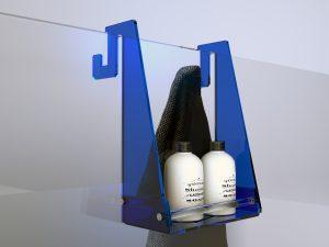 Appendibile in plexiglass per box doccia