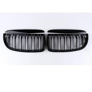 Gloss For E90 E91 Black Front Kidney Grill Grilles For BMW Sedan 2005-2008 4D