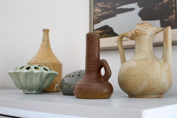 makeover workspace - Accessorize your Home - vintage vases
