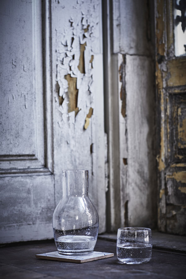 Tankvard glazen karaf en glas - limited collectie IKEA - via Accessorize your Home