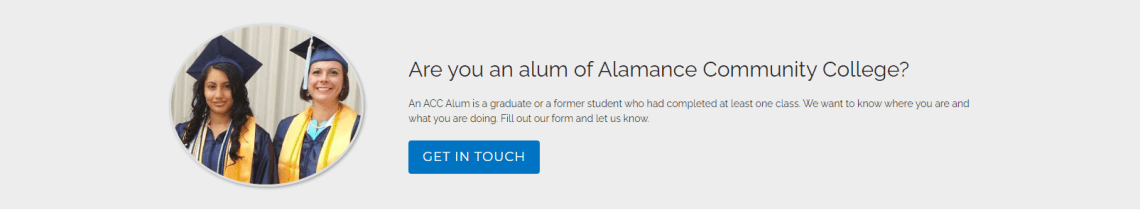 alumni, click to get in touch