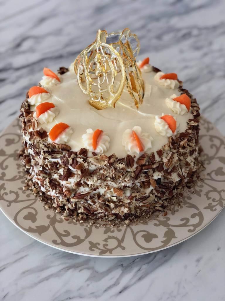 Fancy Shmancy Spelt Flour Carrot Cake | Accidental Artisan