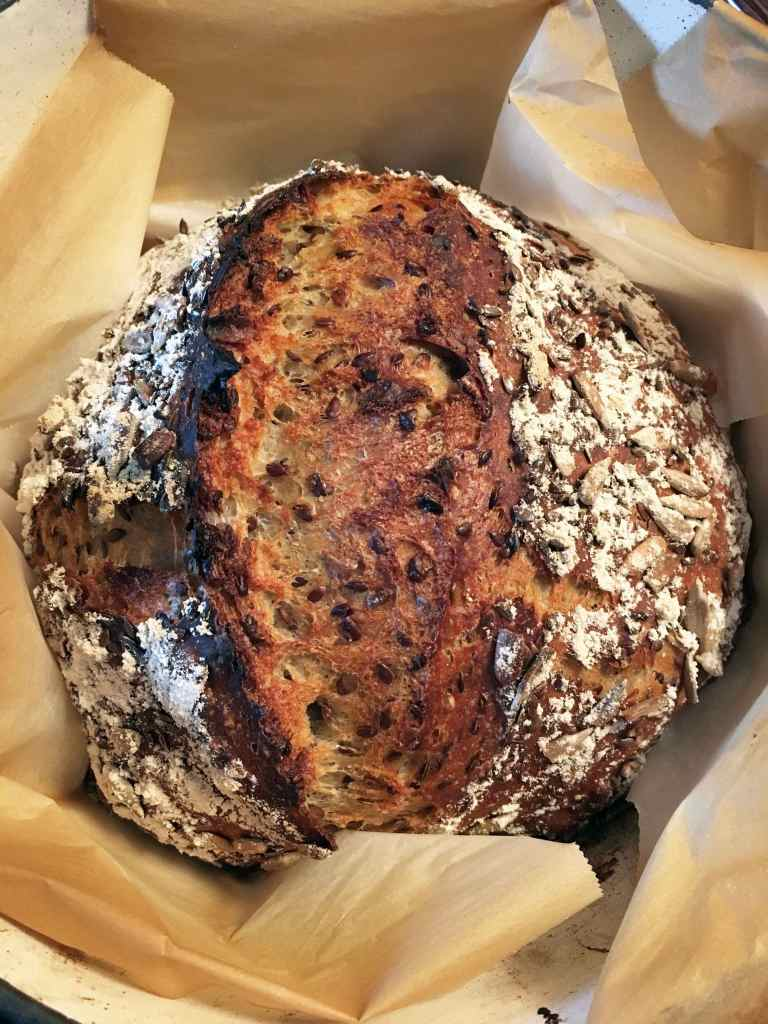 Sunflower Flax Spelt Bread | Accidental Artisan