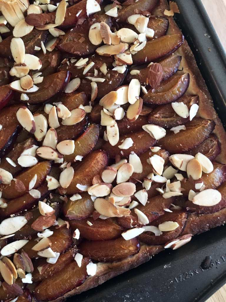 Traditional Plum Spelt Cake | Accidental Artisan