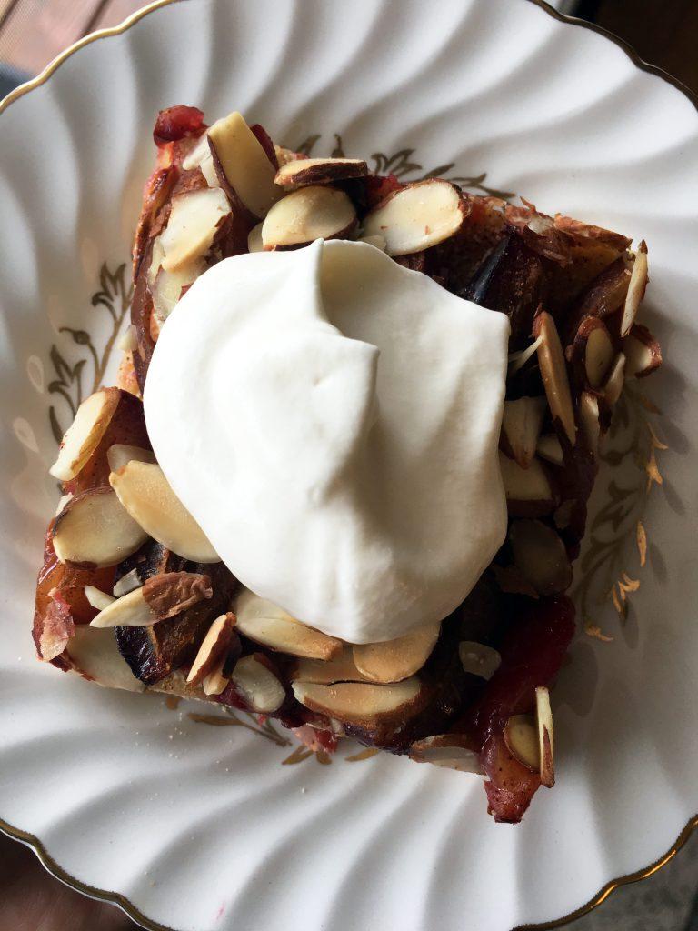 Traditional Plum Spelt Cake | Accidental Artisan