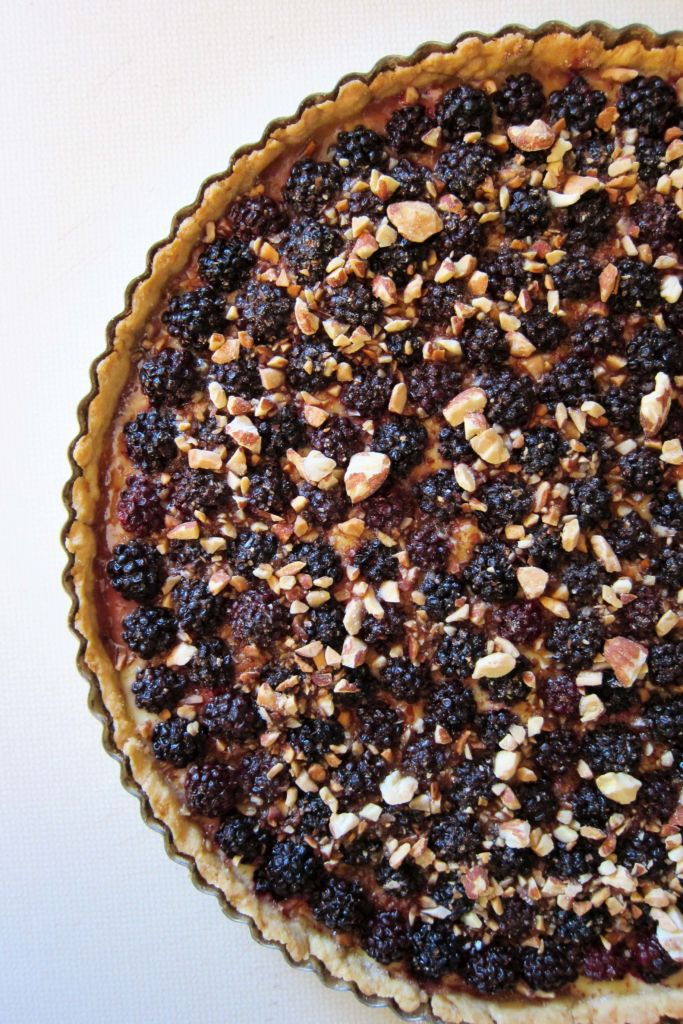 Blackberry Spelt Tart | Accidental Artisan