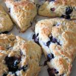 Blueberry Lemon Spelt Scones | Accidental Artisan