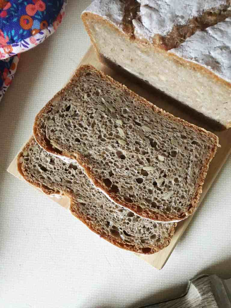 No Knead Sourdough Rye Bread | Accidental Artisan