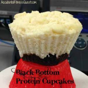 Black Bottom Protein Cupcakes