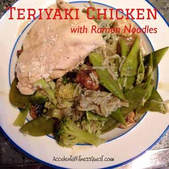 Teriyaki Chicken with Ramen Noodles