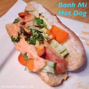 Hot Dog Banh Mi Style