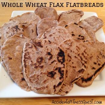 Whole Wheat Flax Flatbreads
