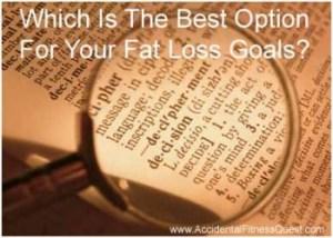 Fat Loss Goals