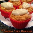 High Protein Carrot Cake Muffins