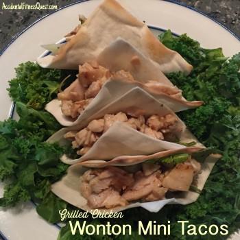 Wonton Mini Tacos
