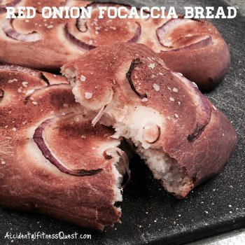 Red Onion Focaccia Bread