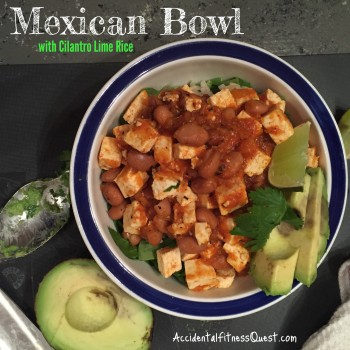 Mexican Bowl with Cilantro Lime Rice