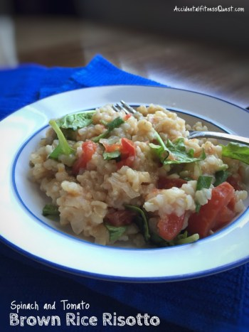 Slow Cooker Brown Rice Risotto