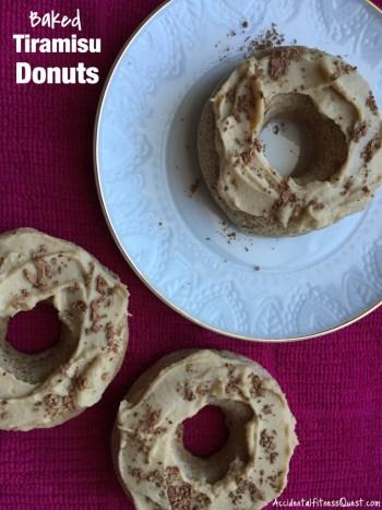 Baked Tiramisu Donuts
