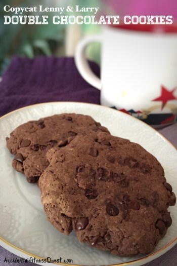 Copycat Lenny and Larry Double Chocolate Cookies