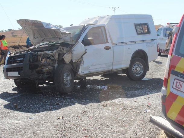 There has been a multiple vehicle crash in the Uthekela district
