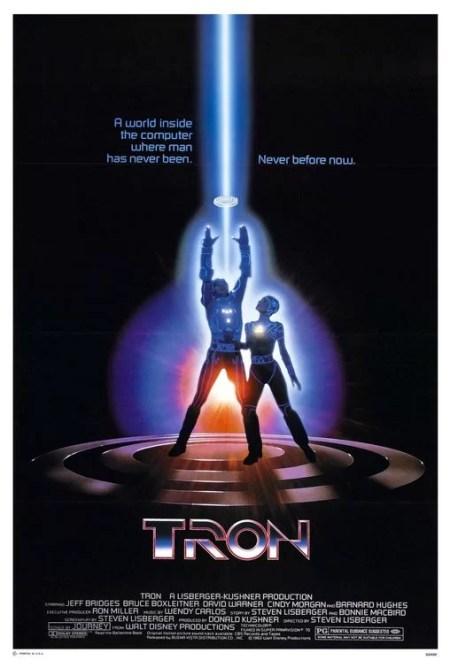 Tron (1982) movie poster accidiosav.com