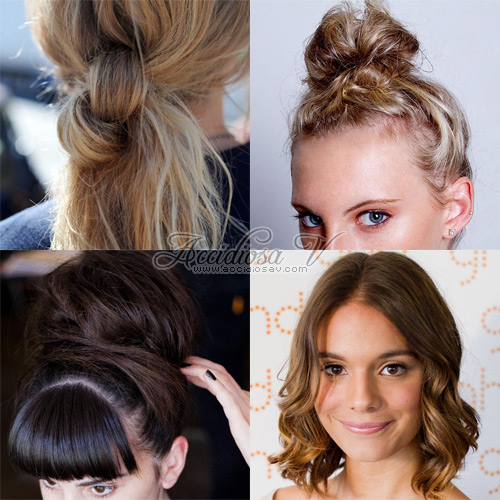 2011 Hair Trends - Hairstyles - Collage